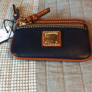 Dooney and Bourke Navy Coin Purse